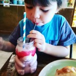lunchdate with mum Always agoodthing ! smoothies bearjar localcafe motherandson