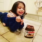 Nuts for Nutella She caught me red handed hiding inhellip